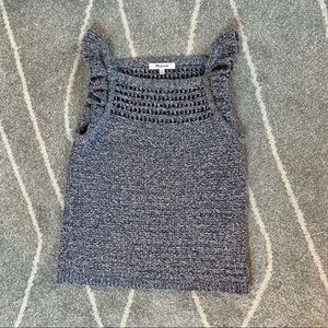 Madewell Navy Knitted Tank Top or Sweater Vest